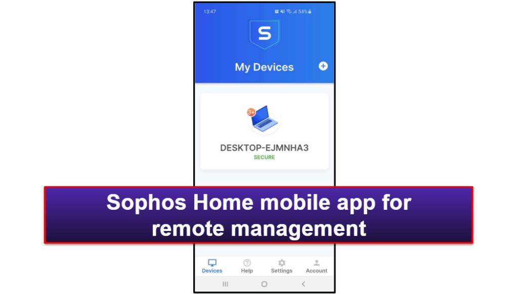 Sophos Antivirus Mobile App