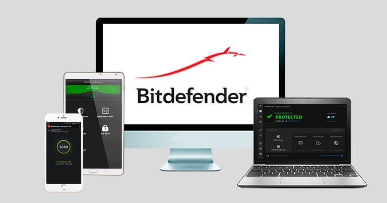 Bitdefender Total Security — Best for Extra Features