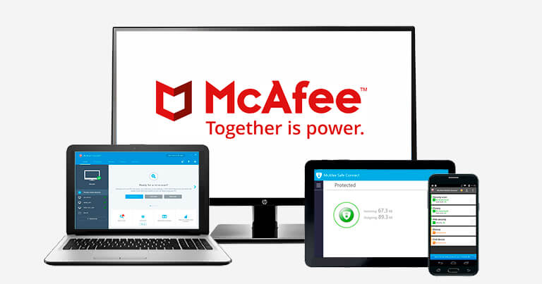 2.🥈McAfee Total Protection – best for internettsikkerhet (+ Beste iOS App)
