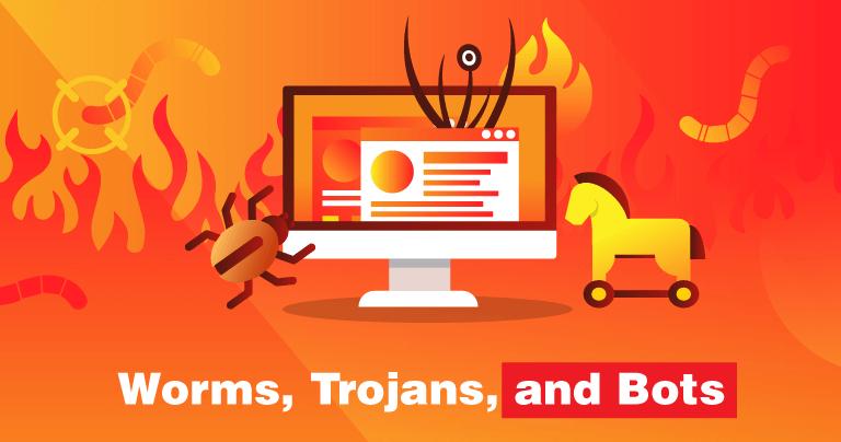 Worms, Trojans & Bots – Understanding Different Hacker Threats