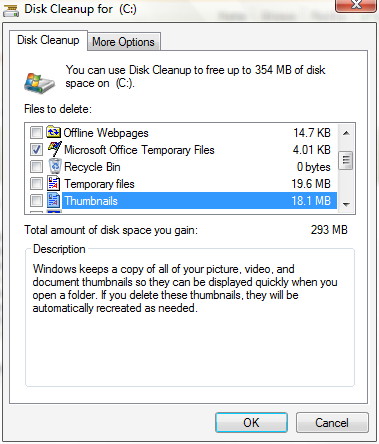 Free Up Disk Space with the Disk Cleanup Utility