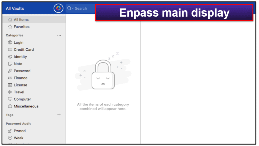 Enpass Security Features