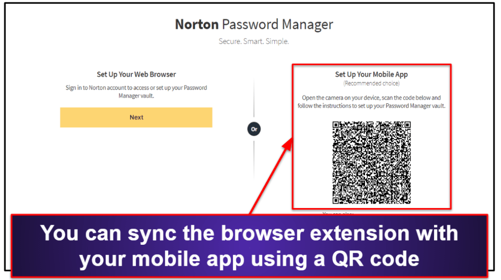 Norton Password Manager Ease of Use and Setup