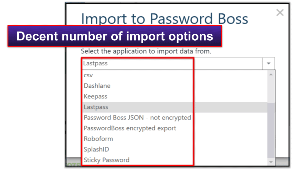 Password Boss Ease of Use and Setup