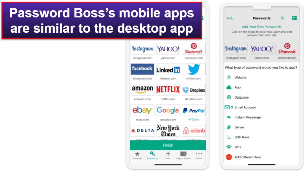 Password Boss Mobile App