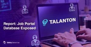 Report: Esposto il database di un portale di lavoro