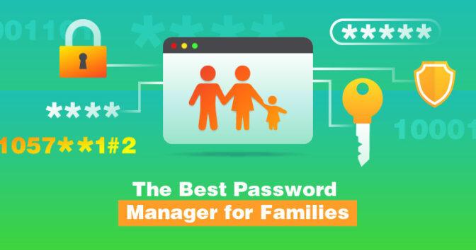 Den Bästa Lösenordshanteren för Familjer 2021