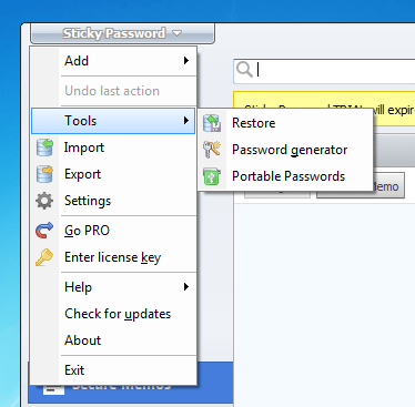 Sticky Password – Best for Its Customizable Number of Users
