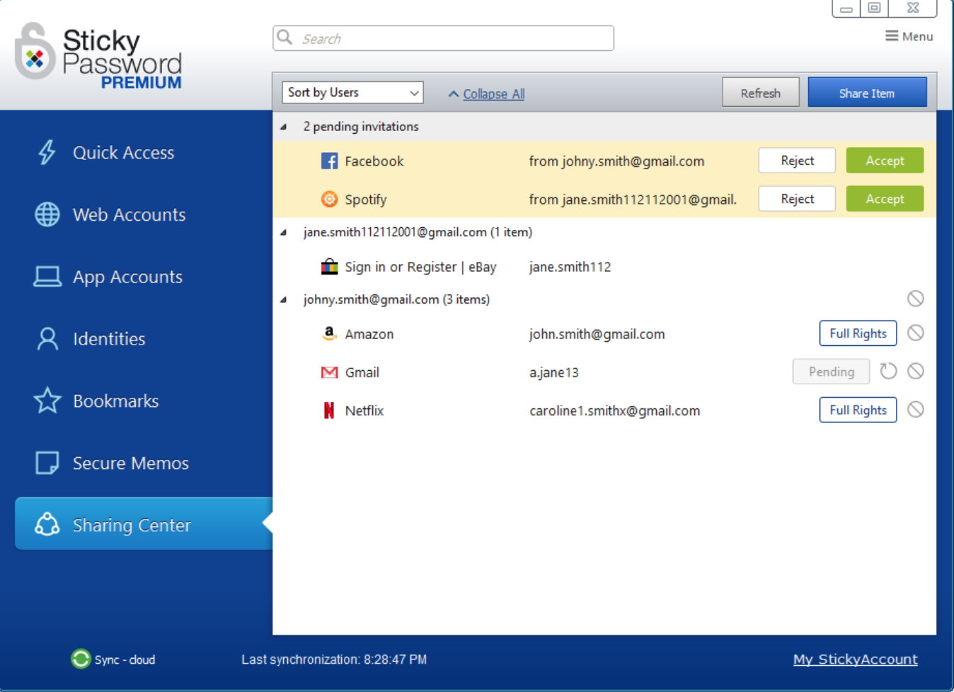 Sticky Password – Best for its Screen Capture Protection
