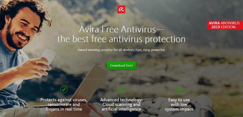 Avira Free Antivirus: la mejor tecnología antivirus en general