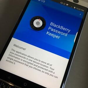 Blackberry Password Keeper