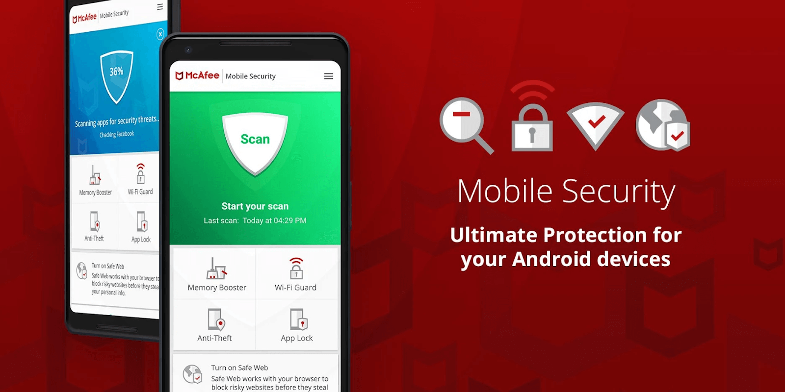 McAfee Mobile Security — Meilleur pour la Protection Antivol