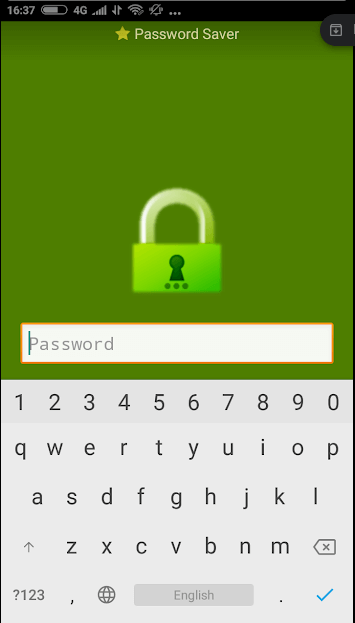 Password Saver Security