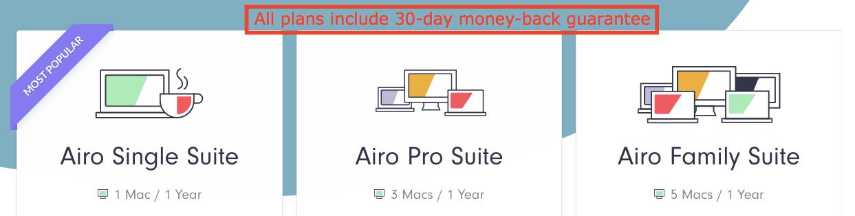Планове и цени на Airo AV