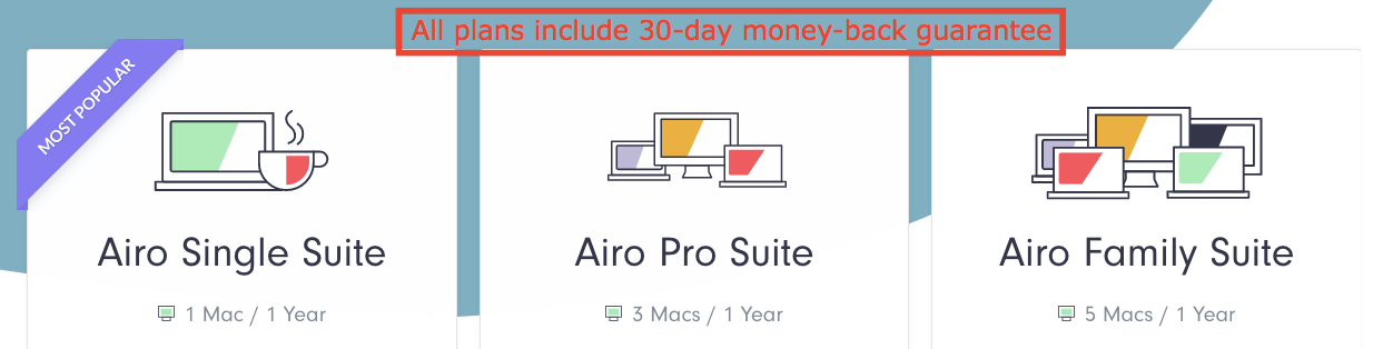 Airo AV Plans and Pricing