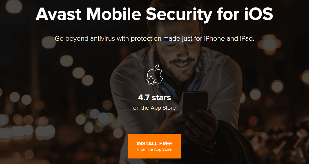 Avast Mobile Security za iOS — Najbolji korisnički interfejs