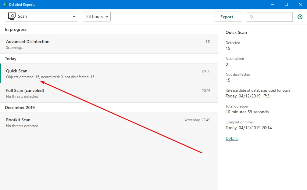 Kaspersky Antivirus Security Features