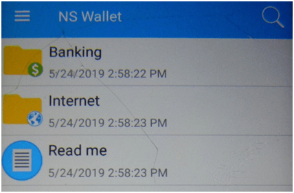 NS Wallet Pro Features