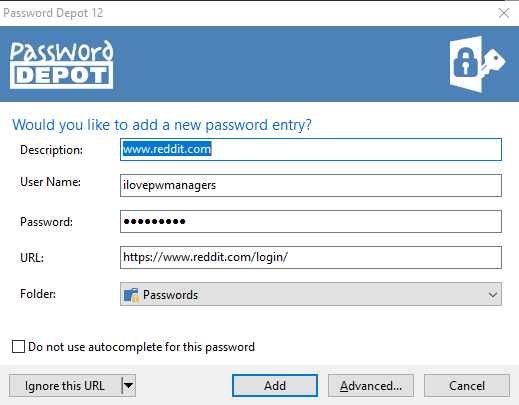 Password Depot Features