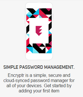 Encryptr Password Manager Ease of Use and Setup