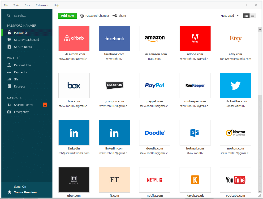 🥇1. Dashlane — Best Overall Password Manager for Chrome in 2020