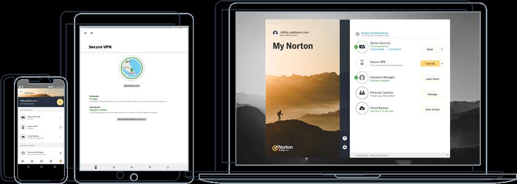 Norton 360 — Solusi Antivirus Terbaik Secara Keseluruhan