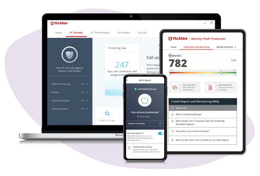McAfee Total Protection — Paras kotiverkon suojaus