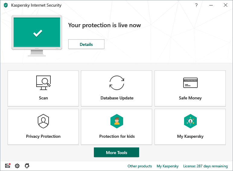 Kaspersky Internet Security – best til netthandel og nettbank