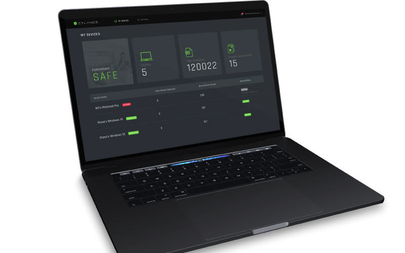 Cylance Smart Antivirus — La solution antivirus la plus simple