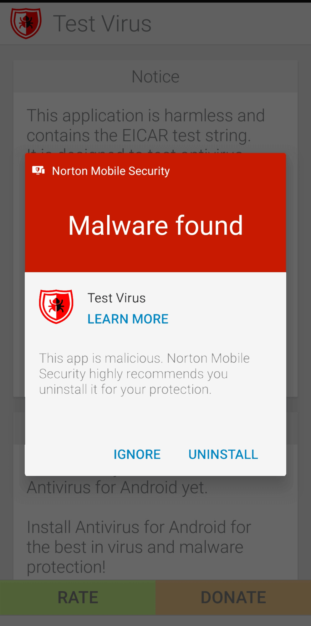 Norton 360 Mobile App