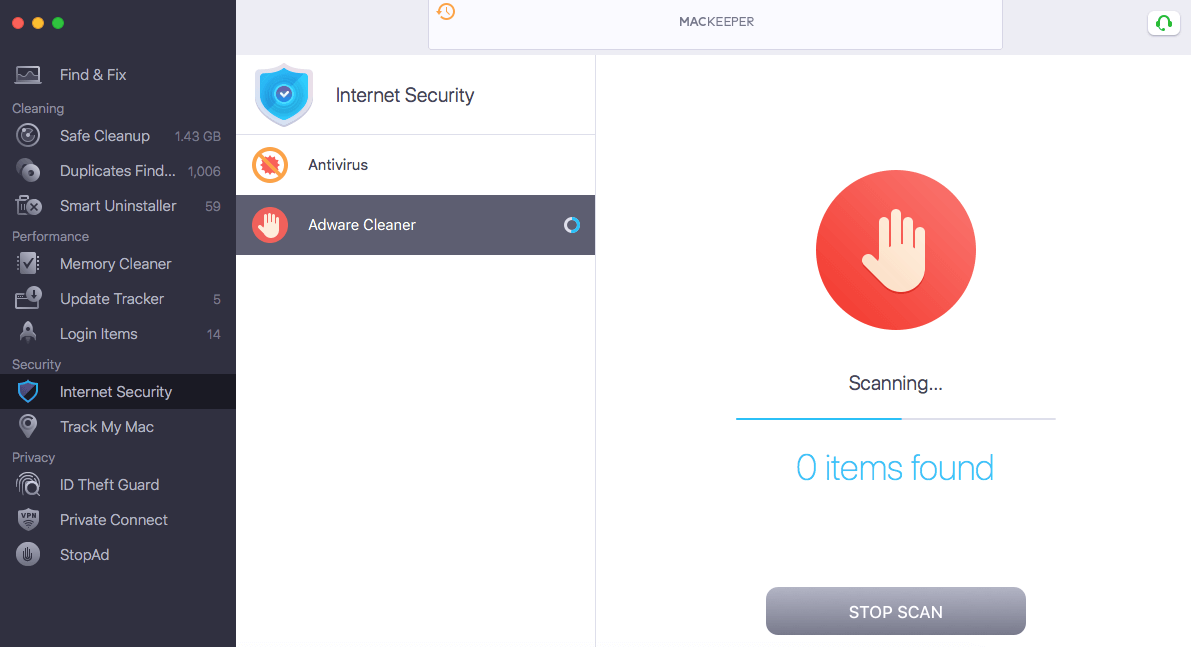 MacKeeper Security Features