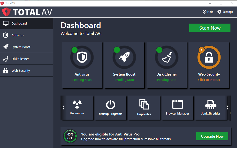 TotalAV — Best for Ease of Use