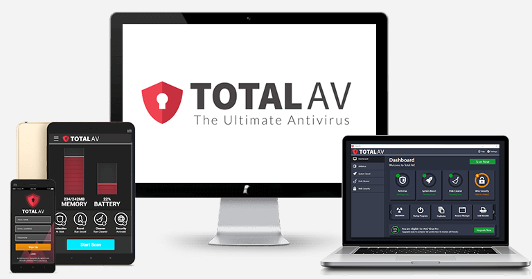 3.🥉 TotalAV — Best for Windows ytelses verktøy