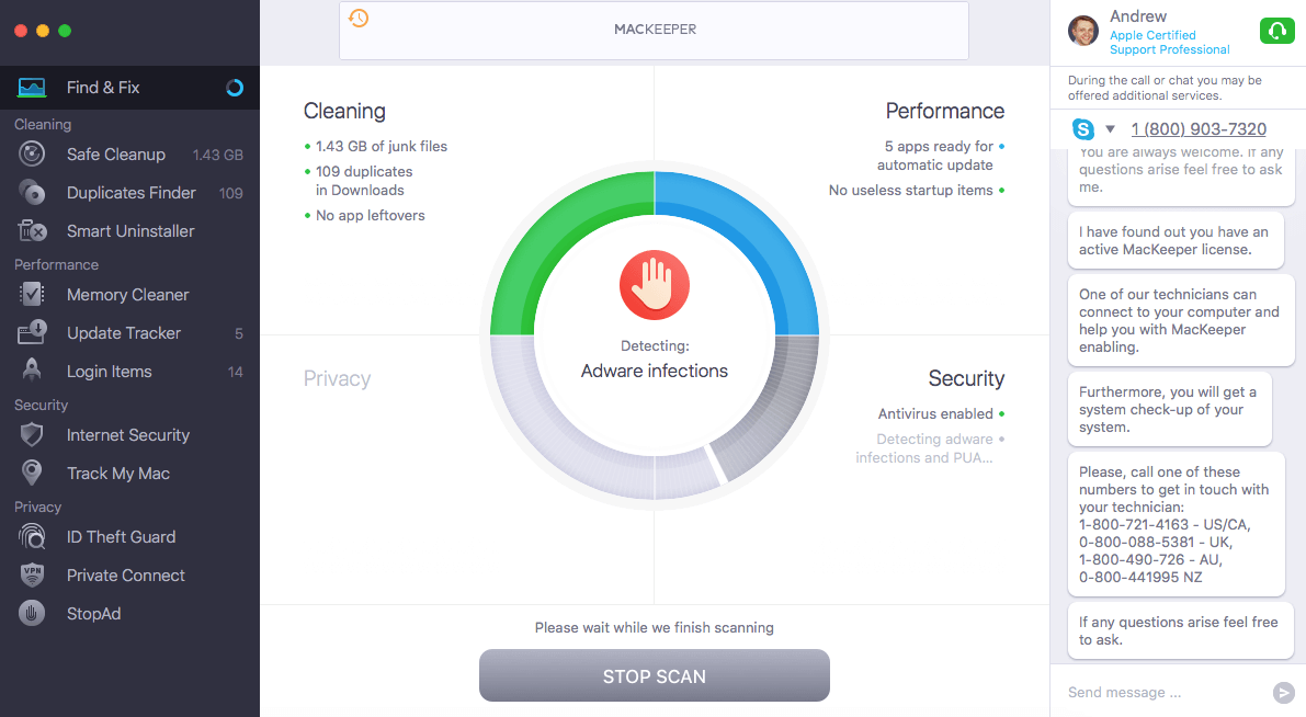 MacKeeper — Best for Internet Security Features