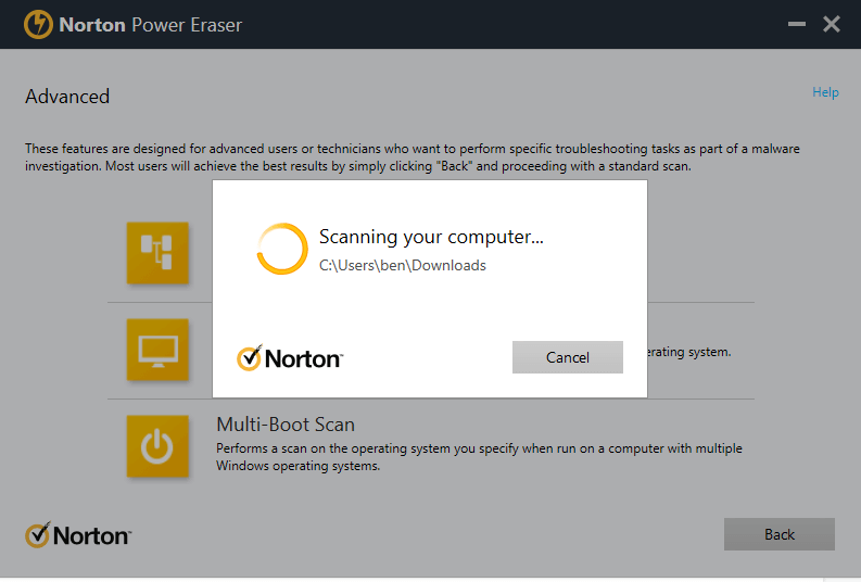 Norton Power Eraser — Best Downloadable Virus Scanner and Virus Removal (Free Online Download)