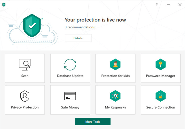 Kaspersky Security Cloud (Free) — 最佳附加功能