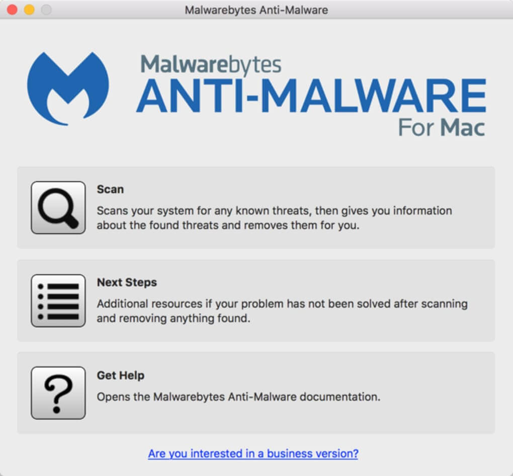 Malwarebytes for Mac (gratuit) – Analyse et suppression des virus efficaces, mais pas grand-chose de plus