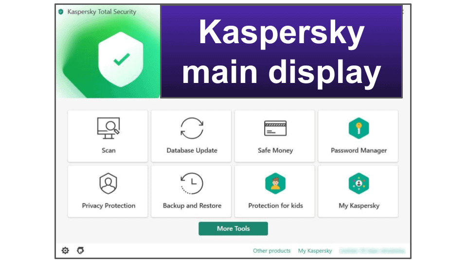 Kaspersky Security Features