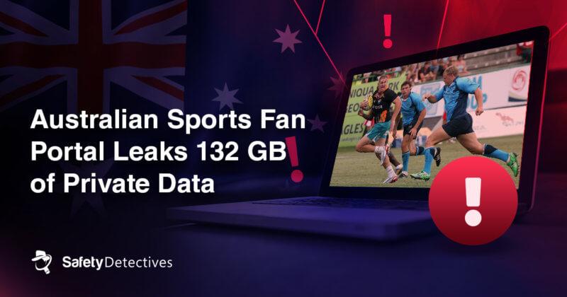 Australian sports fan portal leaks 132GB of private data