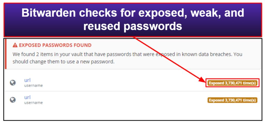 Bitwarden Security Features