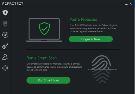 PC Protect Security Features: