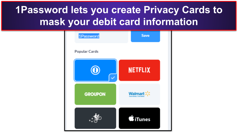 1Password Security Features