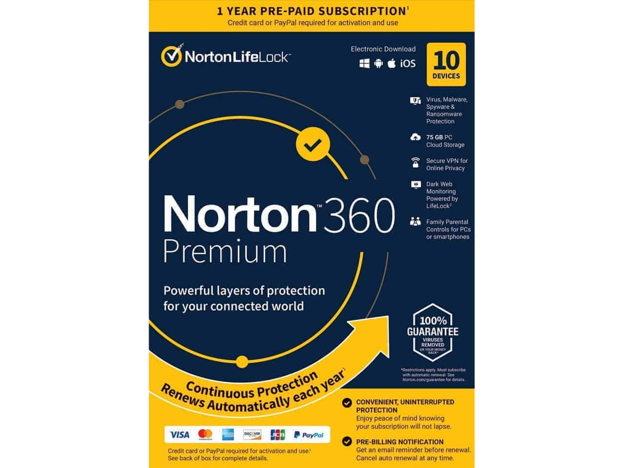 Norton 360 Plans and Pricing