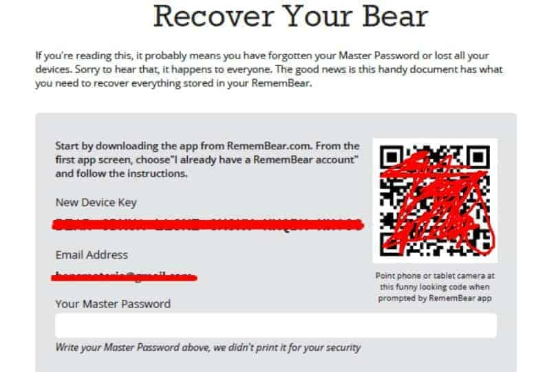 RememBear Security Features