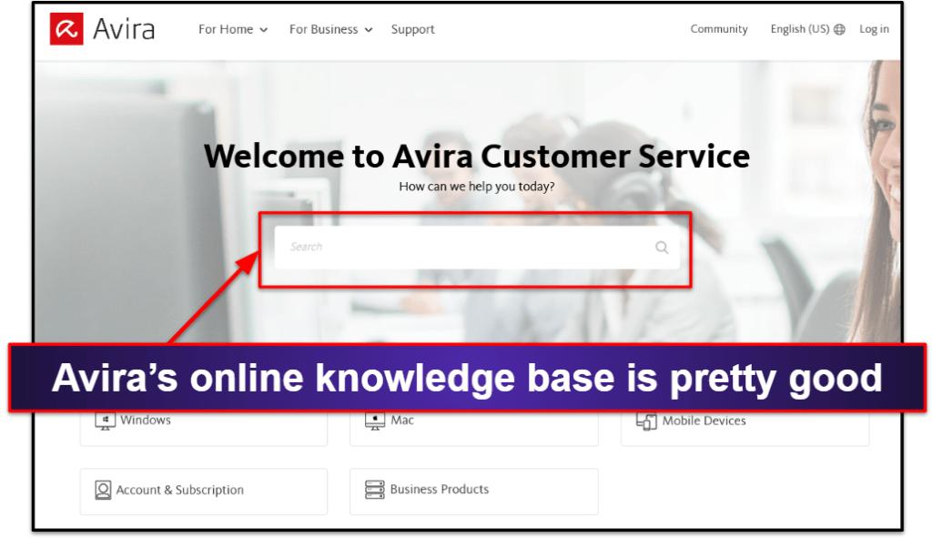 Avira Customer Support