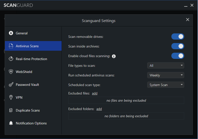 Scanguard Ease of Use and Setup