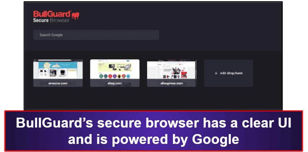 BullGuard Security Features