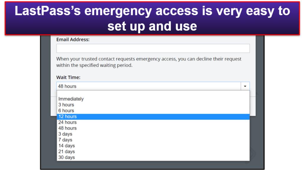 LastPass Security Features
