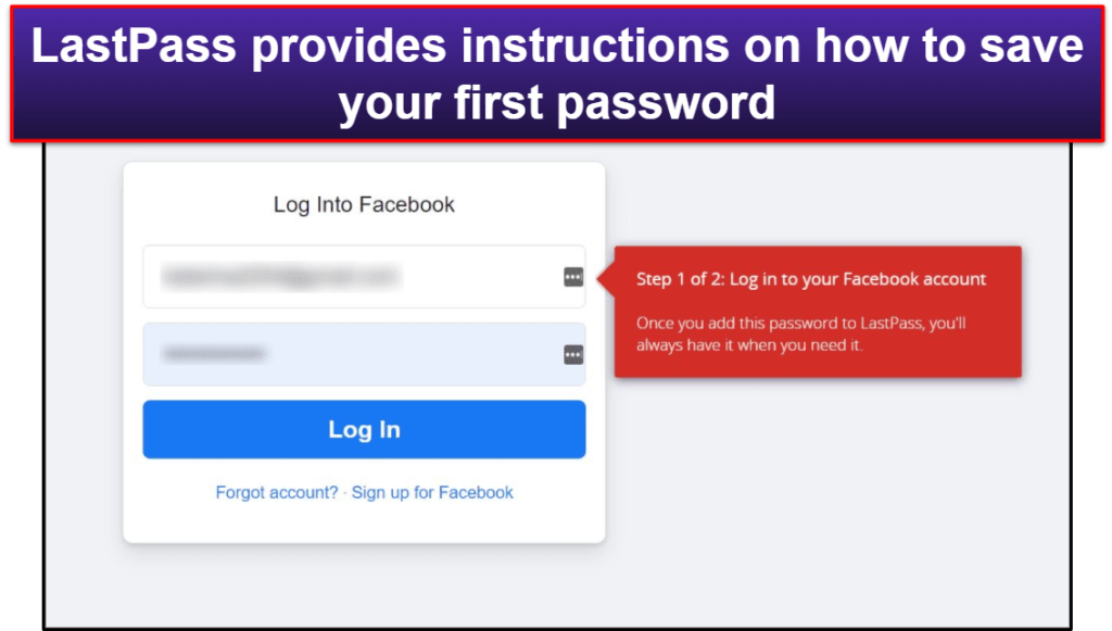 LastPass Ease of Use and Setup