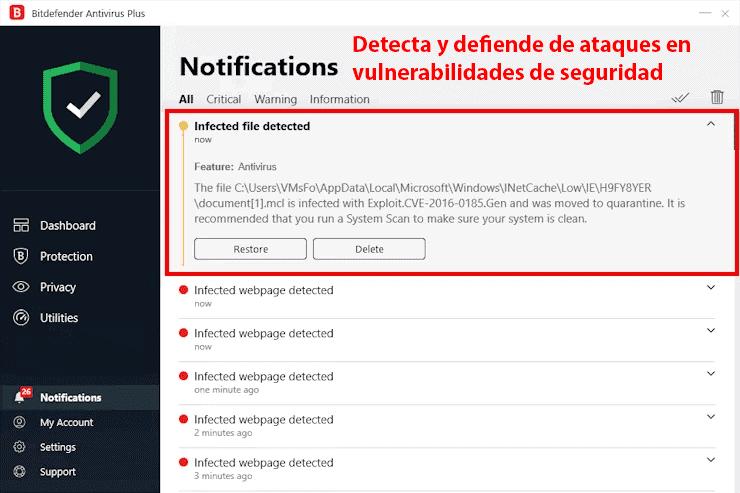 Bitdefender es fácil de instalar y de usar